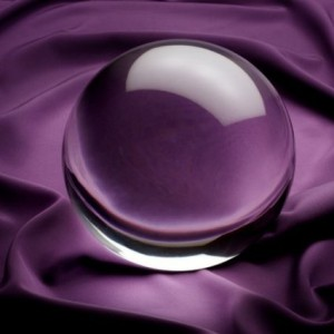 Large 8 inch Crystal Ball 200mm with Free Wooden Stand
