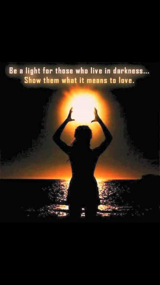 Be a light...