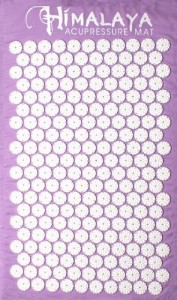 HIMALAYA ACUPRESSURE MAT,color LAVENDER Amazon awarded TOP SELLER!!!