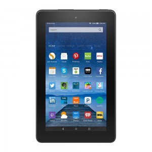 Fire 7 inch Display Wi Fi 8 GB Includes Special Offers