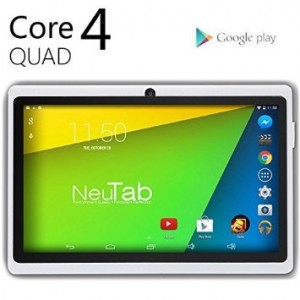 NeuTab N7 Pro 7 inch Quad Core Google Android 4 4 KitKat Tablet PC HD 1024X600 Display Bluetooth Dual Camera Google Play Pre loaded 3D Game Supported