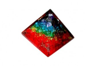 Jet International Chakra Orgone Pyramid