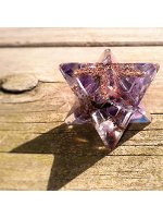 Amethyst Orgone Merkaba Star -The Sobriety and Spirituality Stone