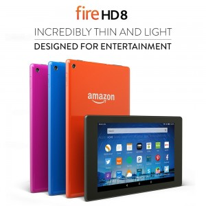 Fire HD 8, 8 HD Display, Wi-Fi, 8 GB