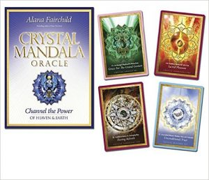 Crystal Mandala Oracle- Channel the Power of Heaven & Earth Cards