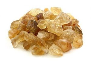Healing Crystals India 1lb Bulk Rough Citrine Stones from Brazil Raw Natural Crystals for Cabbing, Cutting, Lapidary, Tumbling, and Polishing & Reiki Crystal Healing Wholesale Lot