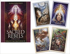Sacred Rebels Oracle- Guidance for Living a Unique & Authentic Life Cards