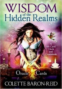 Wisdom of the Hidden Realms Oracle Cards A 44-Card Deck and Guidebook Cards