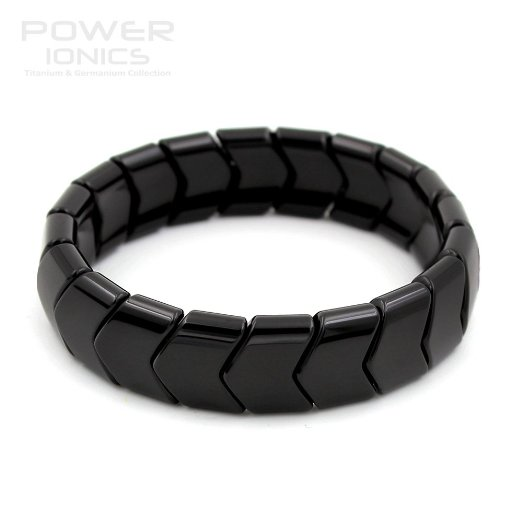 Power Ionic Health Ion Tourmaline Beads Stretch Bracelet Wristband Stretch