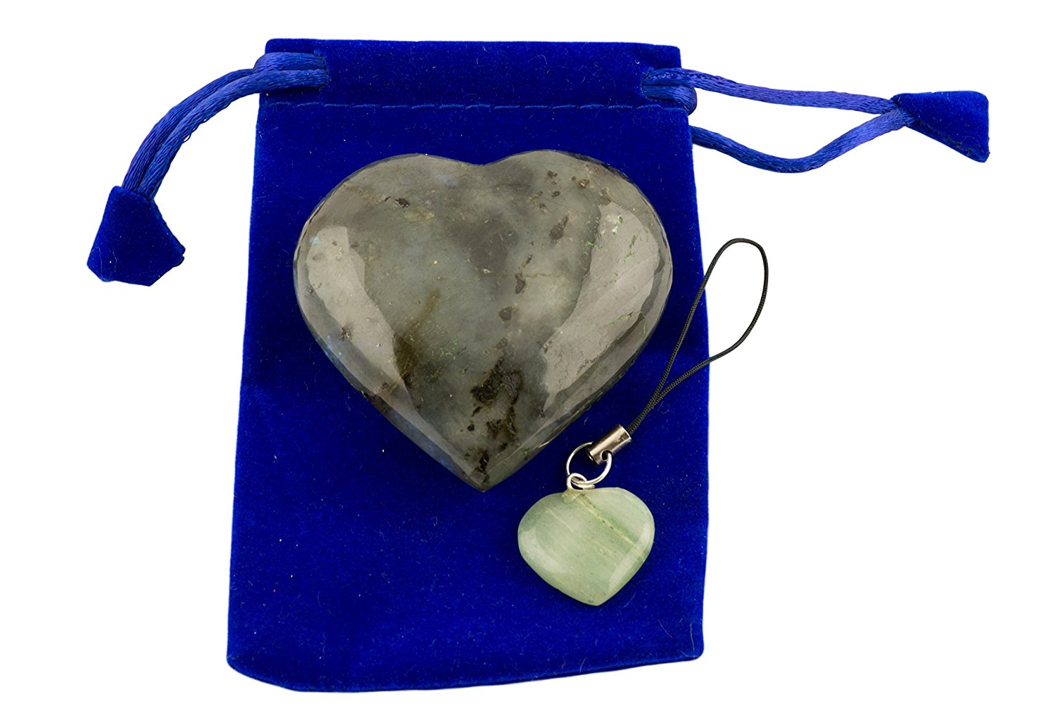labradorite-pub-heart-worry-stone-with-1-pcs-assorted-color-keychain-and-blue-velvet-pouch-labradorite
